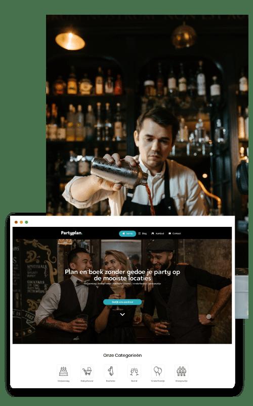 website laten maken bar